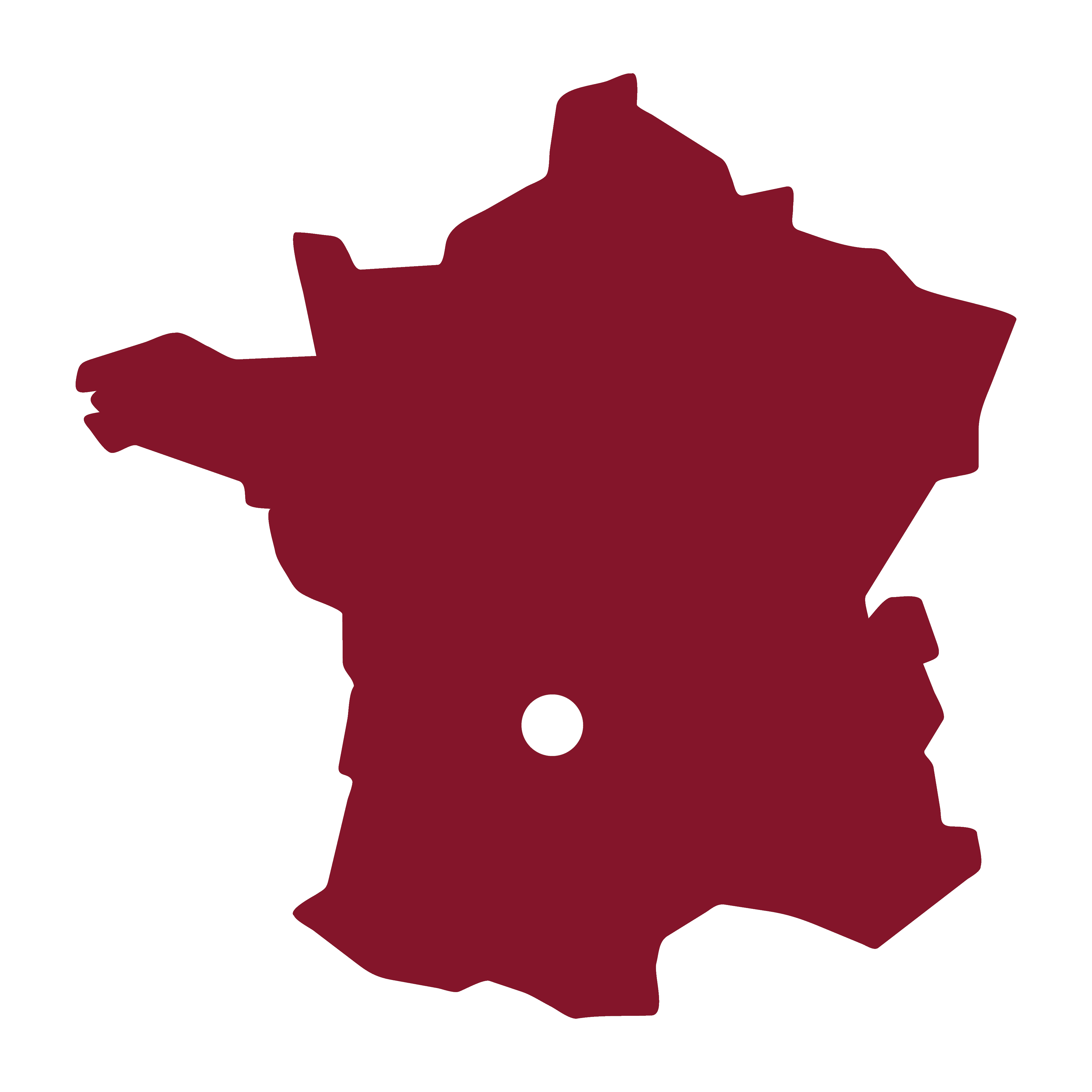 Carte France Aubazine